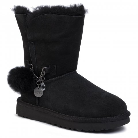 Boty UGG - W Classic Short Charm 1103765  Blk (36)