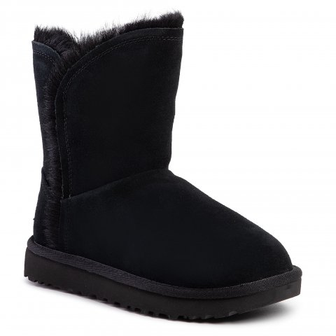 Boty UGG - W Classic Short Fluff High-Low 1103746  Blk (36)
